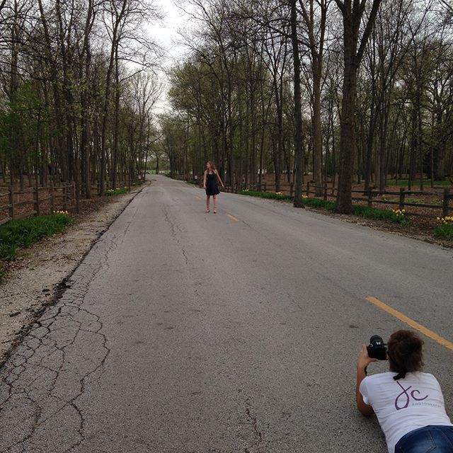Senior shoot tonight!  Perfect weather, blooming trees, beautiful girl, fabulous assistant. 😊. #lakecountyilphotographer #seniorpictures #jcphotography #grayslakephotographer #libertyvillephotographer