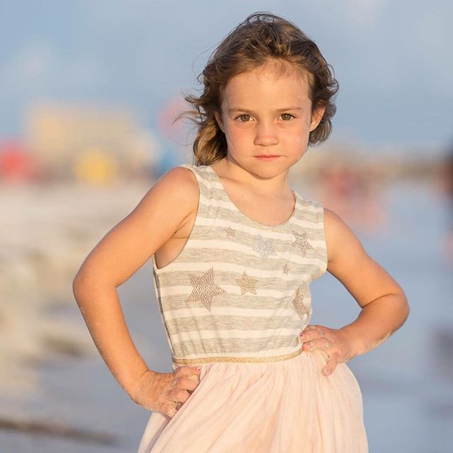 Work it.  #5goingon15 #sarasotaphotographer #sarasotachildrensphotographer #siestakey #siestaportraits #floridaphotographer #beachportraits