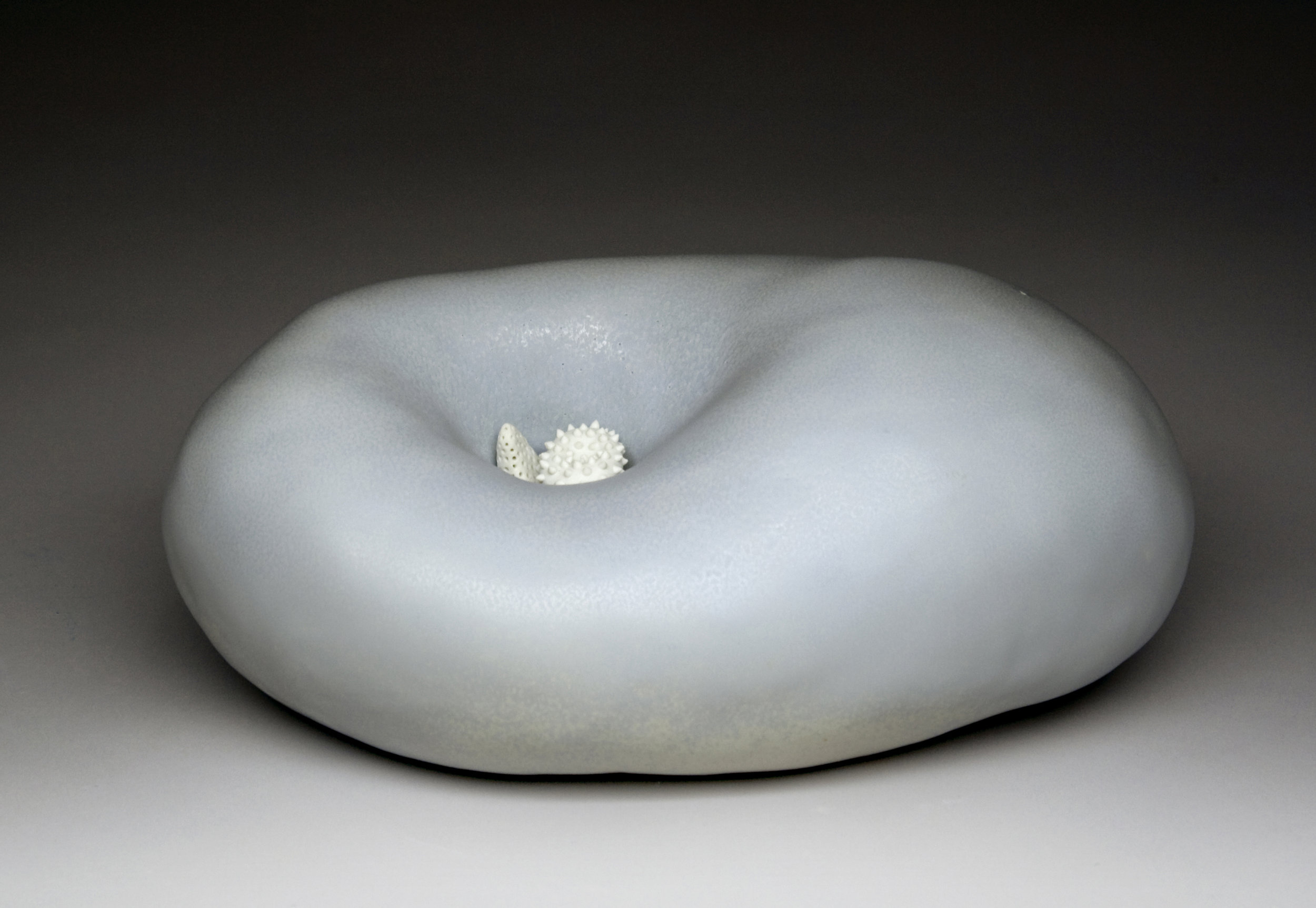 """Humility Porcelain Cone 10 reduction 9"""" x 4"""" x 6"""""""