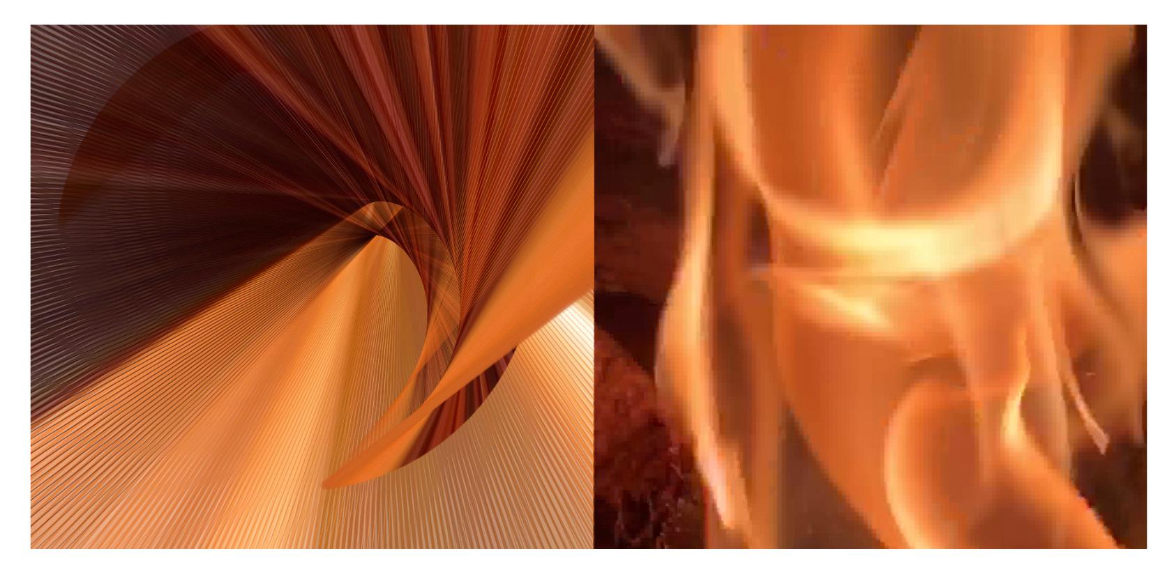 Ephemeral Void-Elements - Fire, 2019 (Video Still)