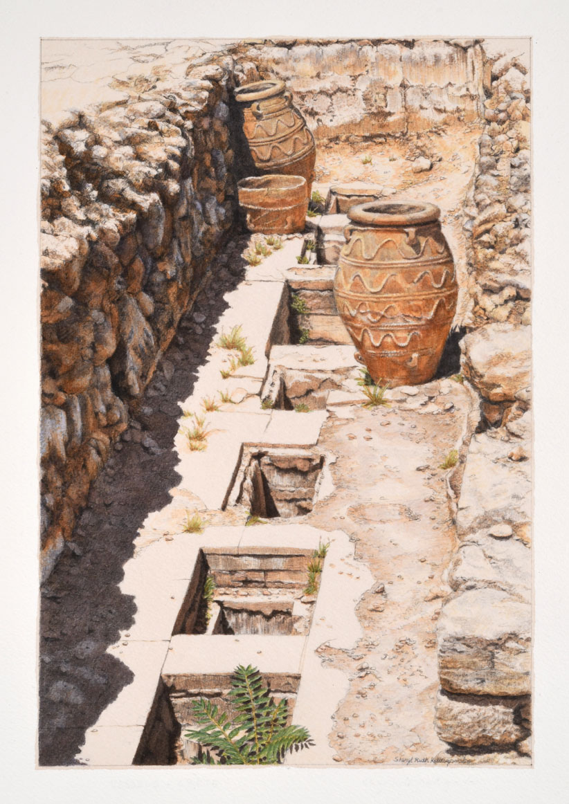 Stroll Through the Palace of Knossos, 2017