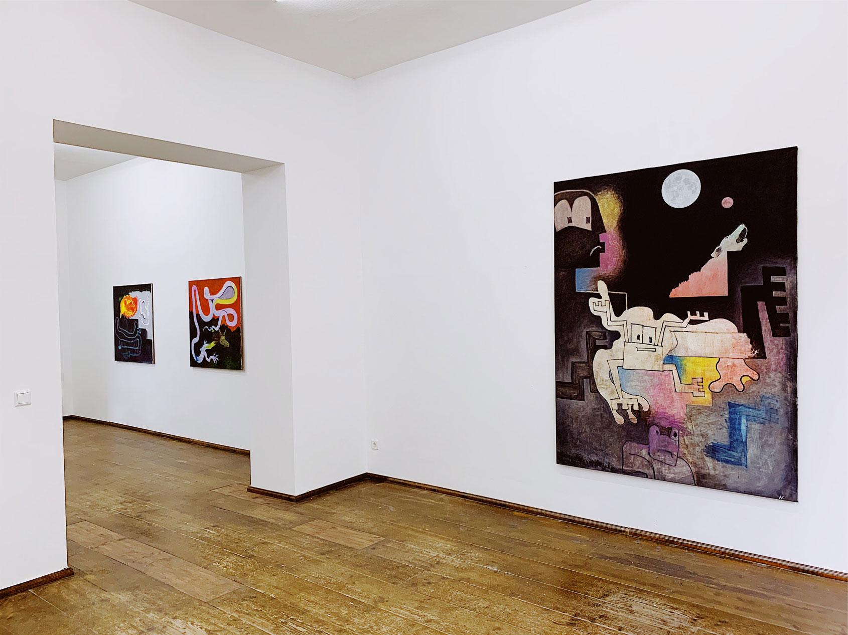 Alles Gut, 2019 (exhibition view)