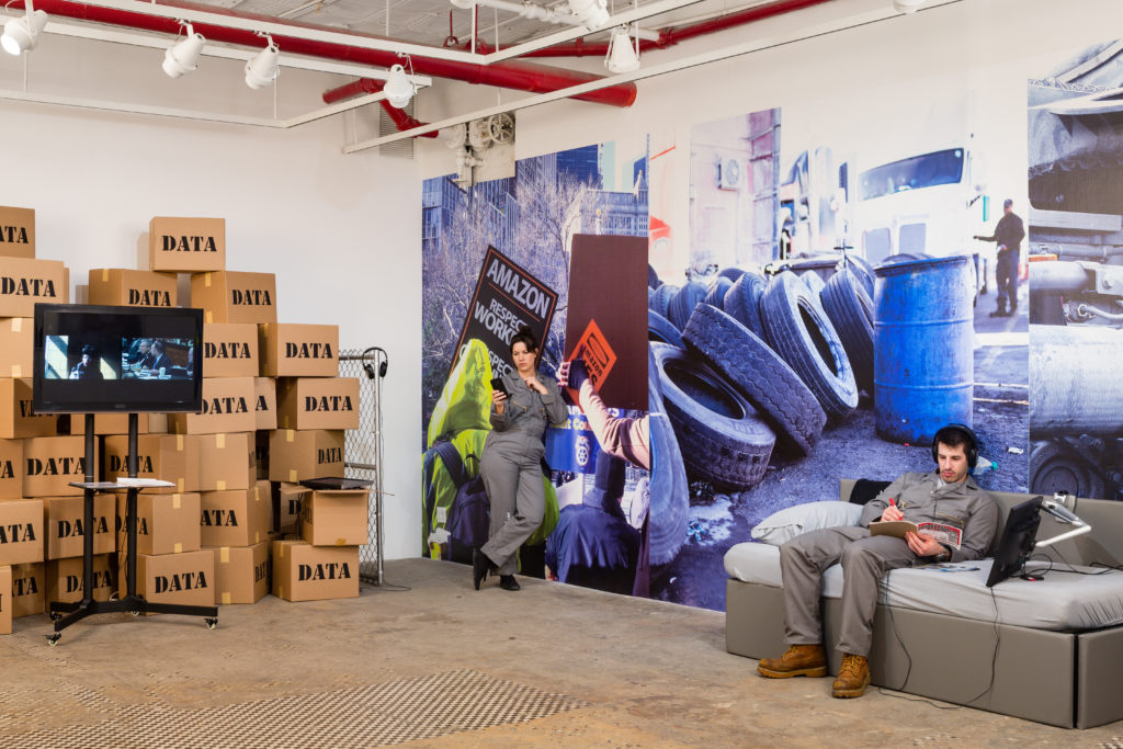 Brett Wallace/Working Conditions, 2019 (installation view)