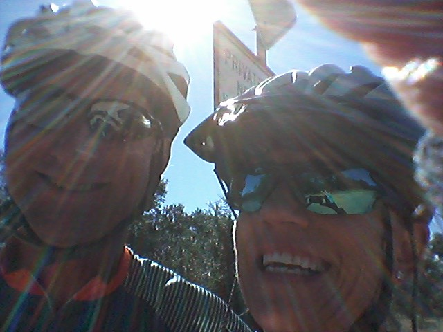 We are big cyclists!