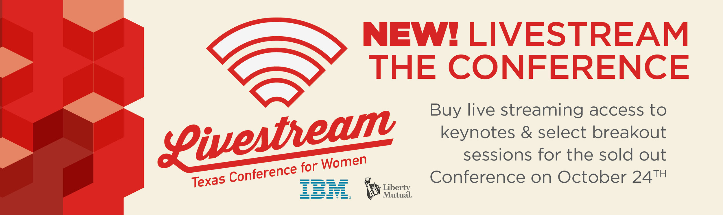 Texas Conference for Women Livestream
