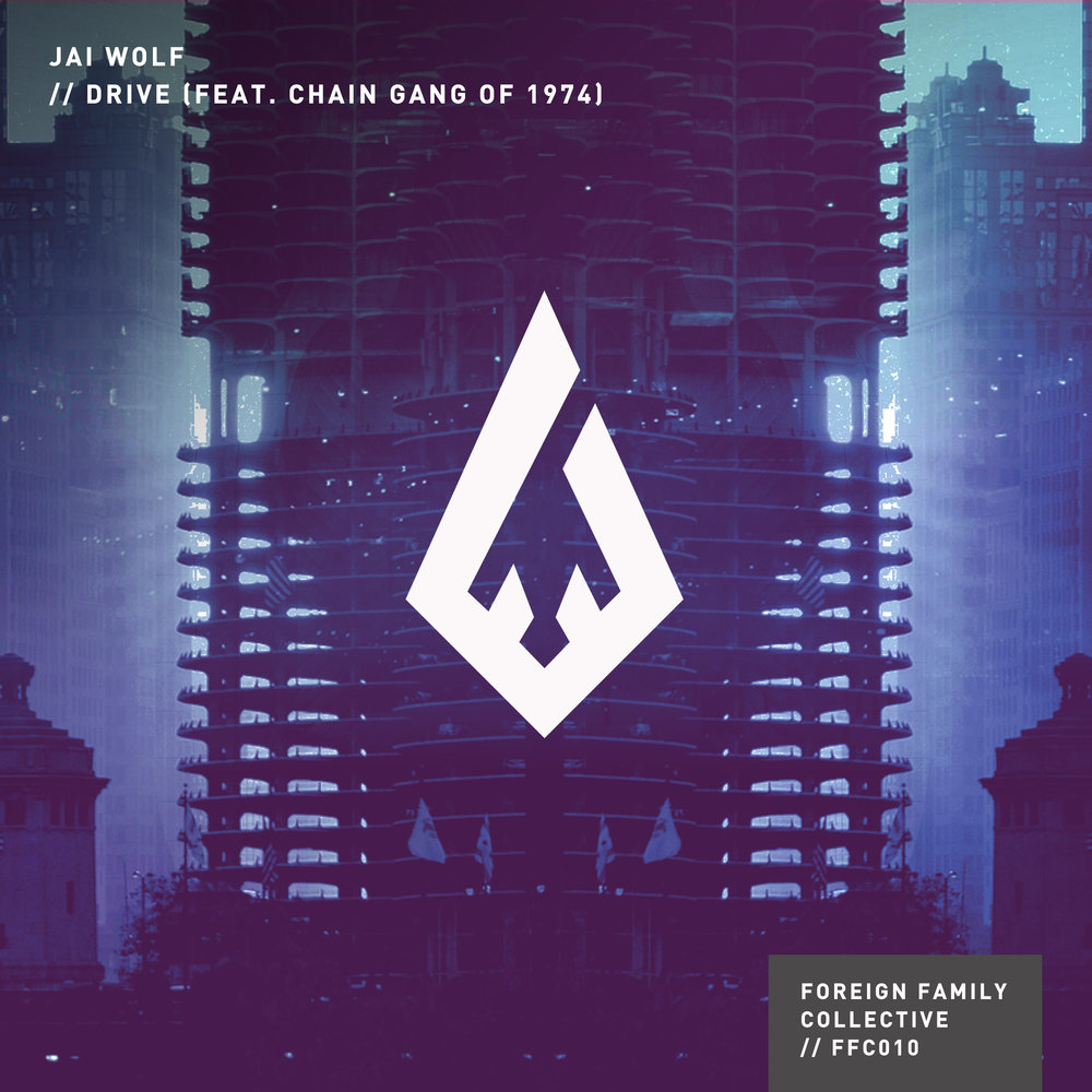 "<p class=""sid"">FFC010</p><p>JAI WOLF - ""Drive (feat. Chain Gang of 1974)""</p>"