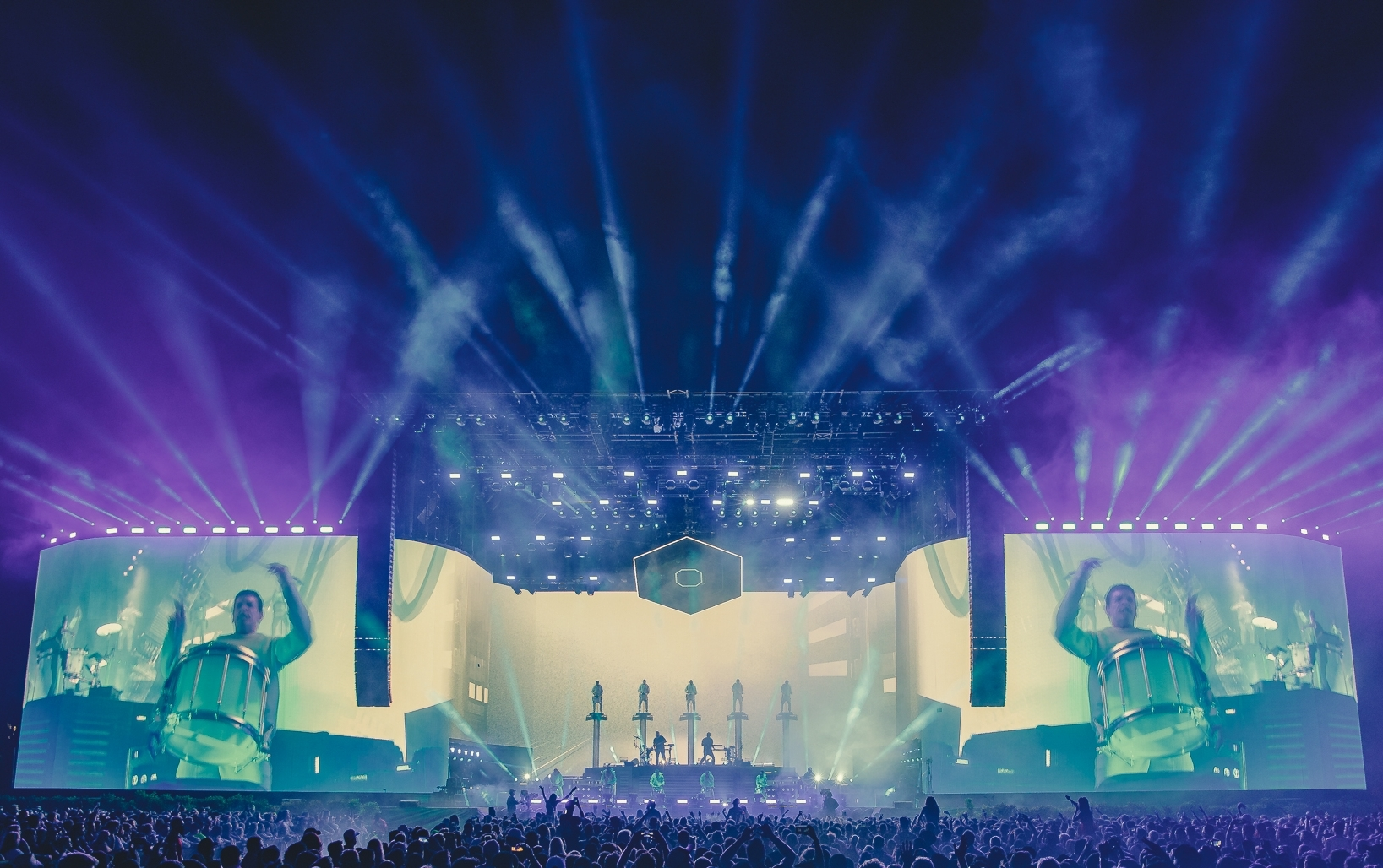 ODESZA - COACHELLA MAIN STAGE 2018  - Creative Direction, Visuals, Stage Design, Show Direction