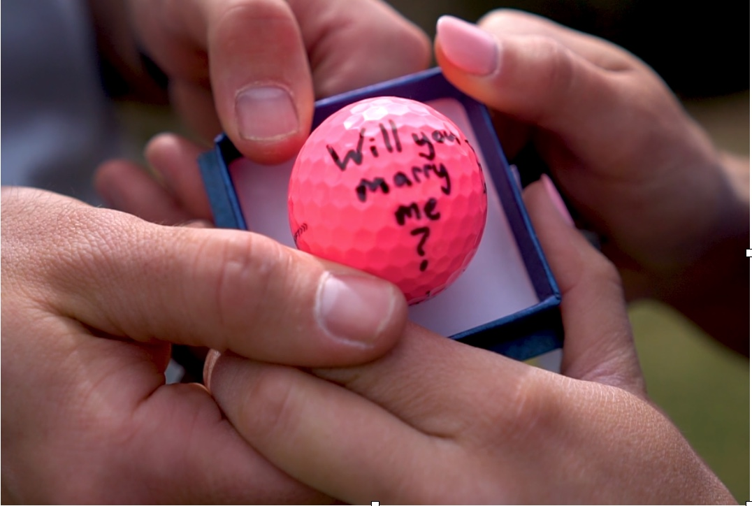 golf ball proposal