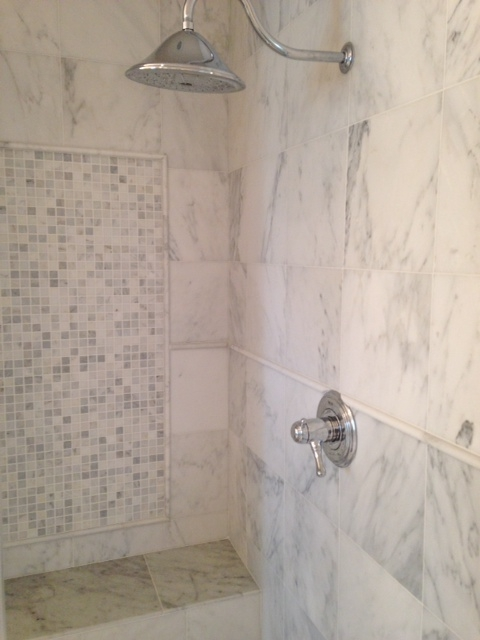 Having someone else clean your stone showers is a perfectly acceptable option.