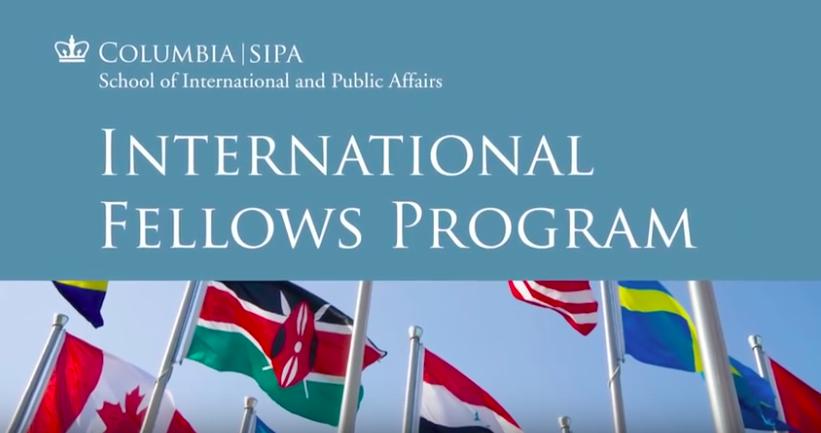 School of International and Public Affairs (SIPA) Fellow, 2015 - INTERNATIONAL FELLOWS PROGRAMATLANTA, GA