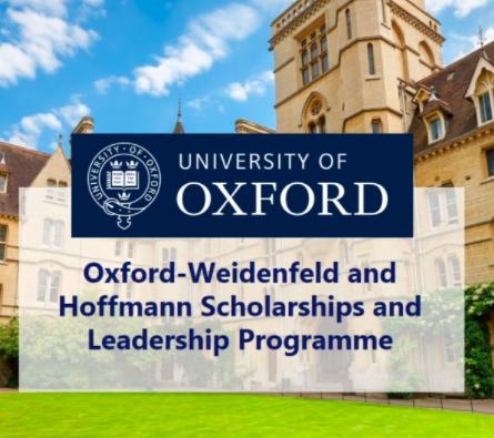 Lord Weidenfeld Scholar, 2011-2012 - OXFORD, UNITED KINGDOM