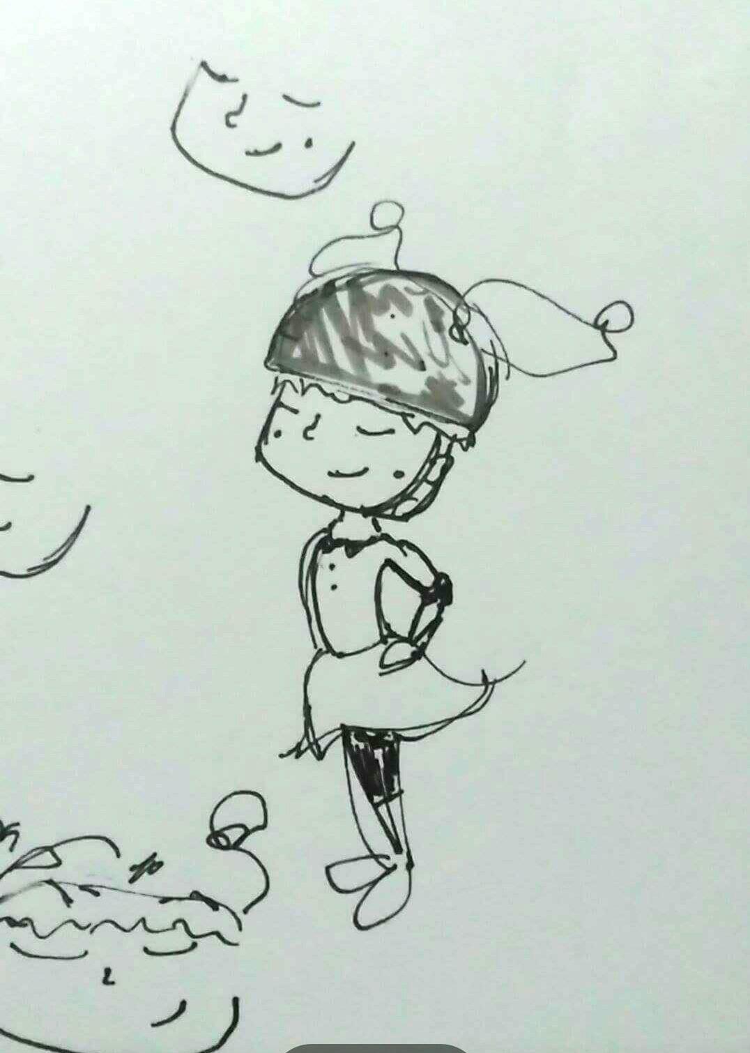 The Very 1st Millie Sketch!
