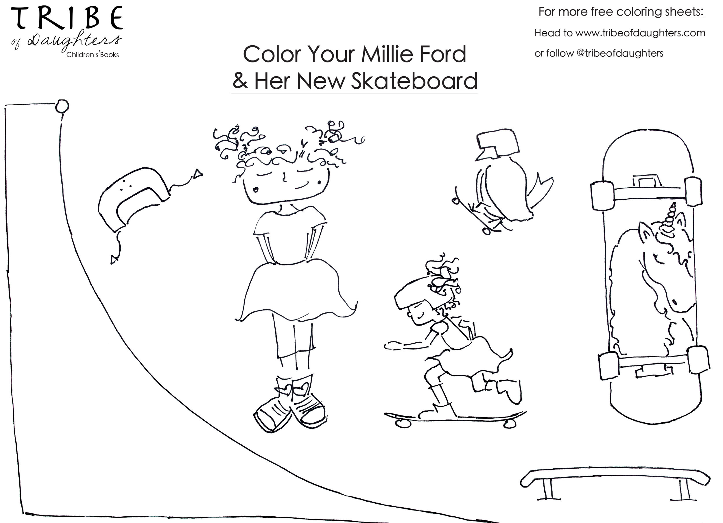 Millie Ford Coloring Sheet