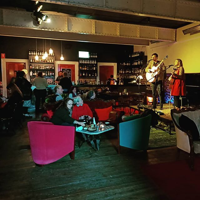 What a pleasure it was playing at @the.lost.ones.basement.bar on Saturday arvo. Such a beautiful room!