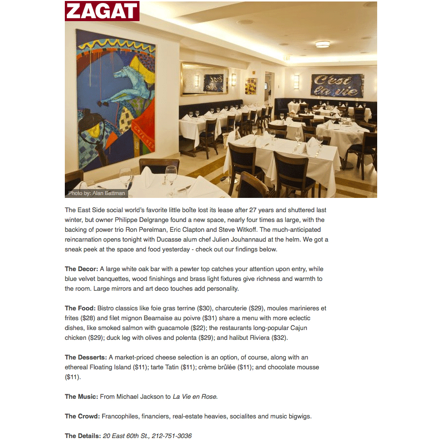 Copy of Copy of Zagat - 2014 March