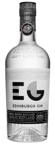 A bottle of gin that we use in the hair salon