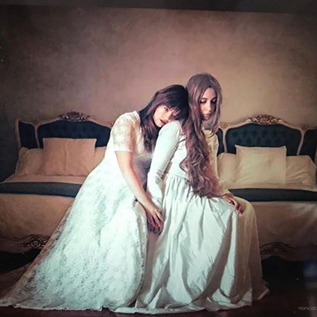 #longhair #photooftheday #bedroom #notmine #whitedress