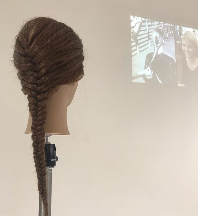 #fishtailbraid #braid #braids #hairstyles #kevinmurphy @hairdresserharrogate