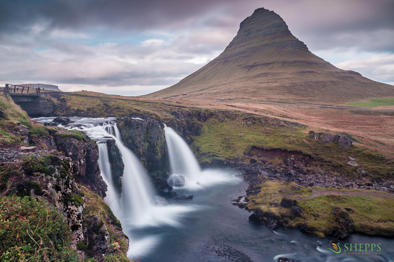 Iceland - Kirkjufellfoss Waterfall