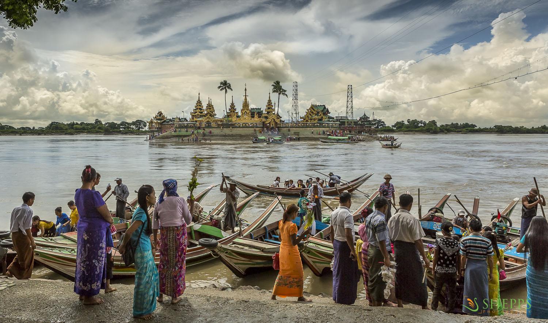 Myanmar - Floating Shrine