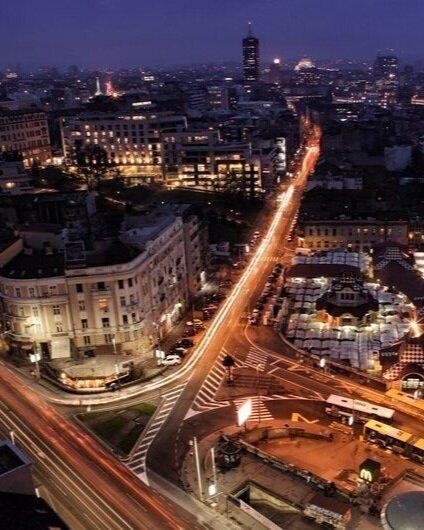 Belgrade by night!