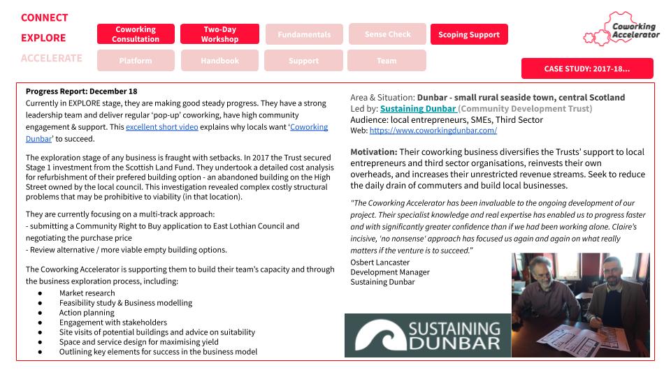 Sustaining Dunbar