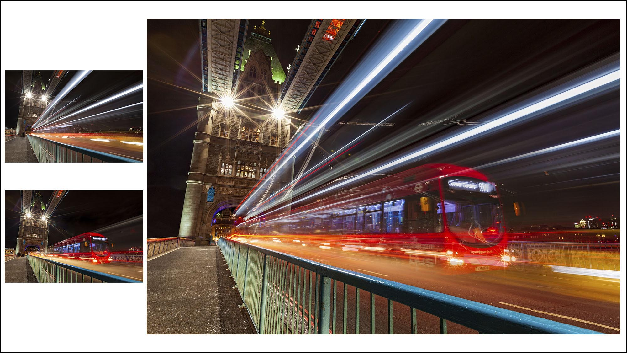 Lesson 12 – Light Trail Photography – Edit - In this edit, I'll teach you how to enhance the colours and contrast of night scenes, remove people and objects that get in your way and we'll look at bringing through a bus travelling in the other direction using layer masks in Photoshop. The Raw files are provided so you can work along with me.