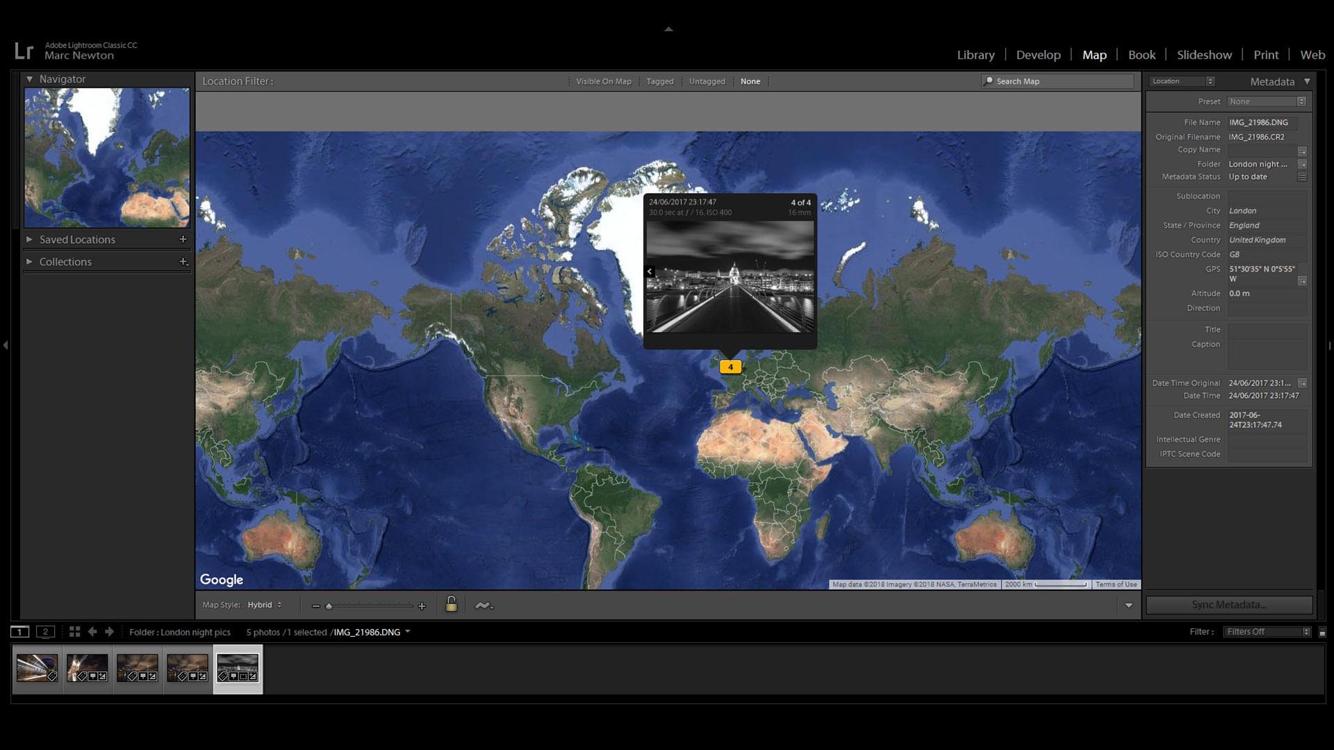 Lesson 15 – Map Module - This is a great option to add GPS tagging to your photos. I'll teach you, in depth, how to use the map module to add location information manually and on import.