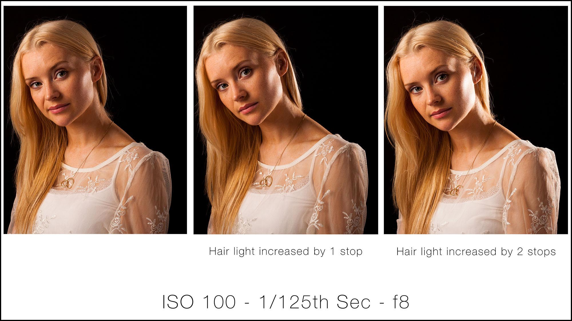 Lesson 10 – Introducing fill and hair lights - Here we'll look at introducing fill and hair lights. You'll be shown how to measure and balance the power of multiple lights for varied effects and look at how to use master and slave flashes when using multiple lights.
