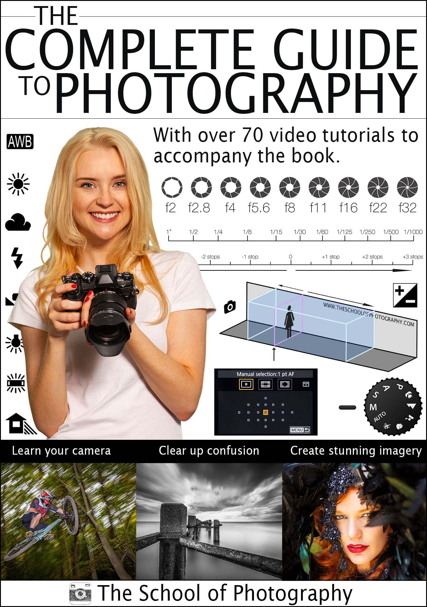 Photography book front cover