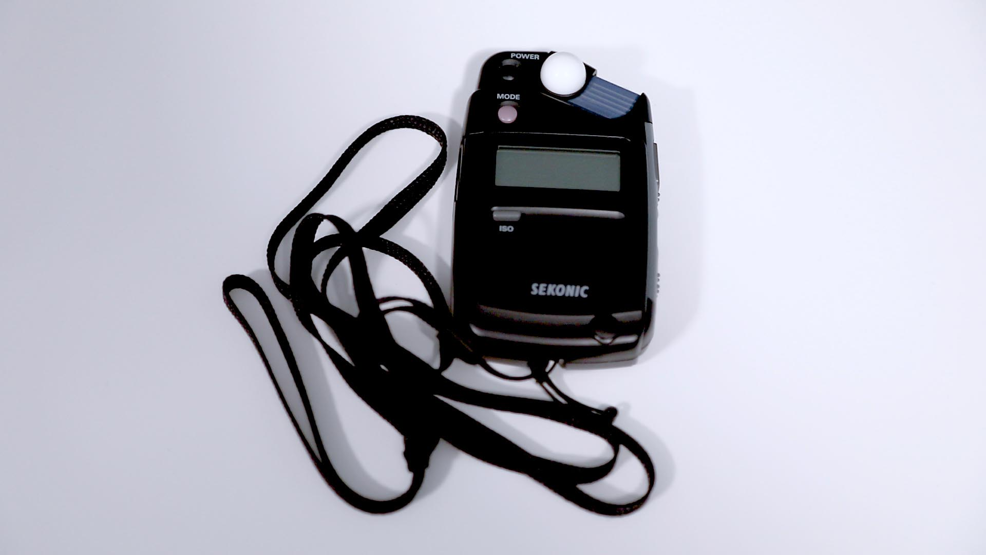 Example of a light meter.