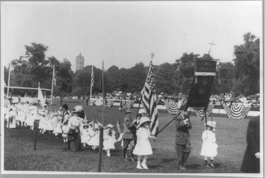 Brooklyn, N.Y., Sunday School Parade  (circa 1908) from Bain Collection, Library of Congres