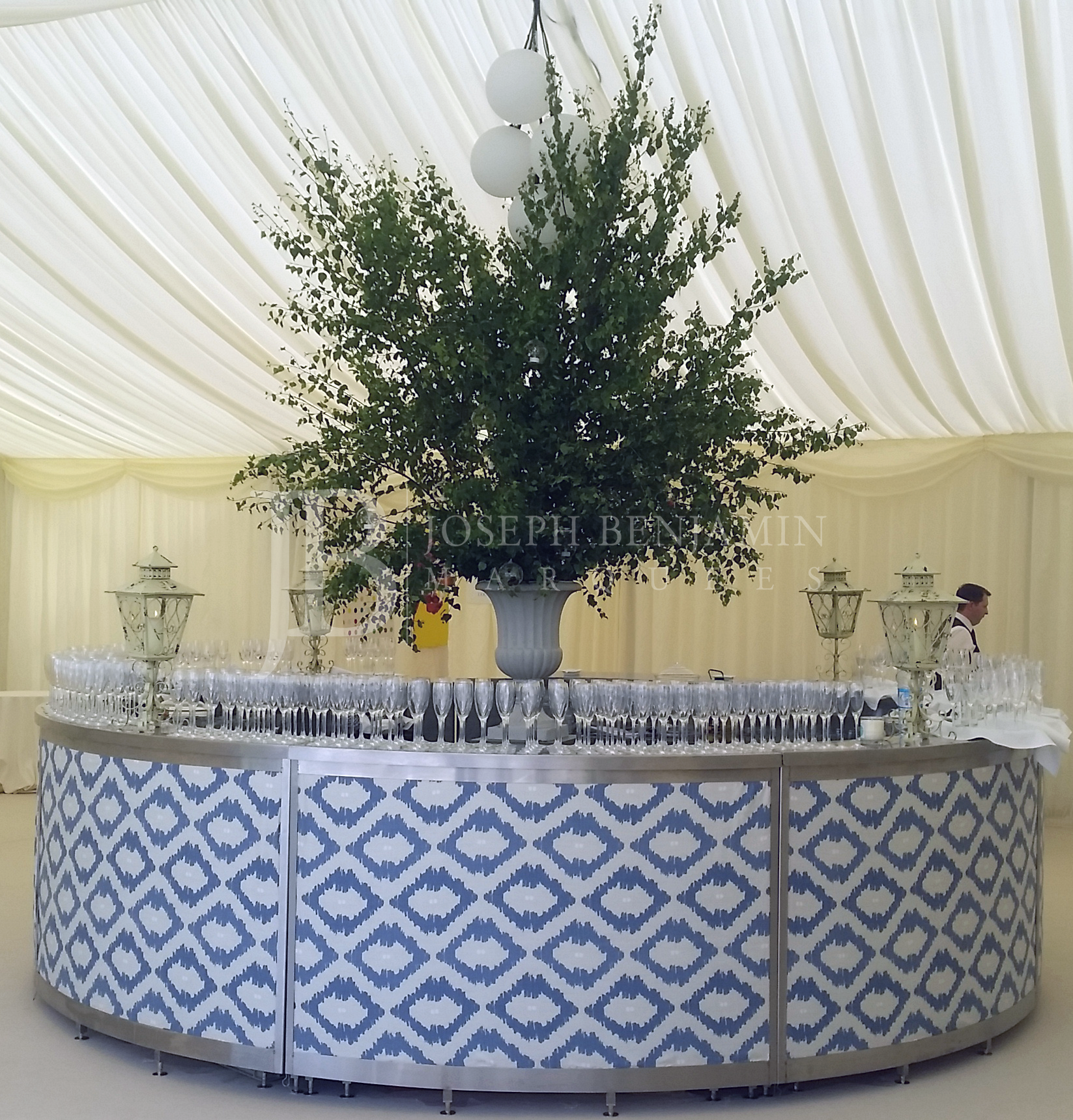 Wedding Marquee From Joseph Benjamin Marquees Formal Bar