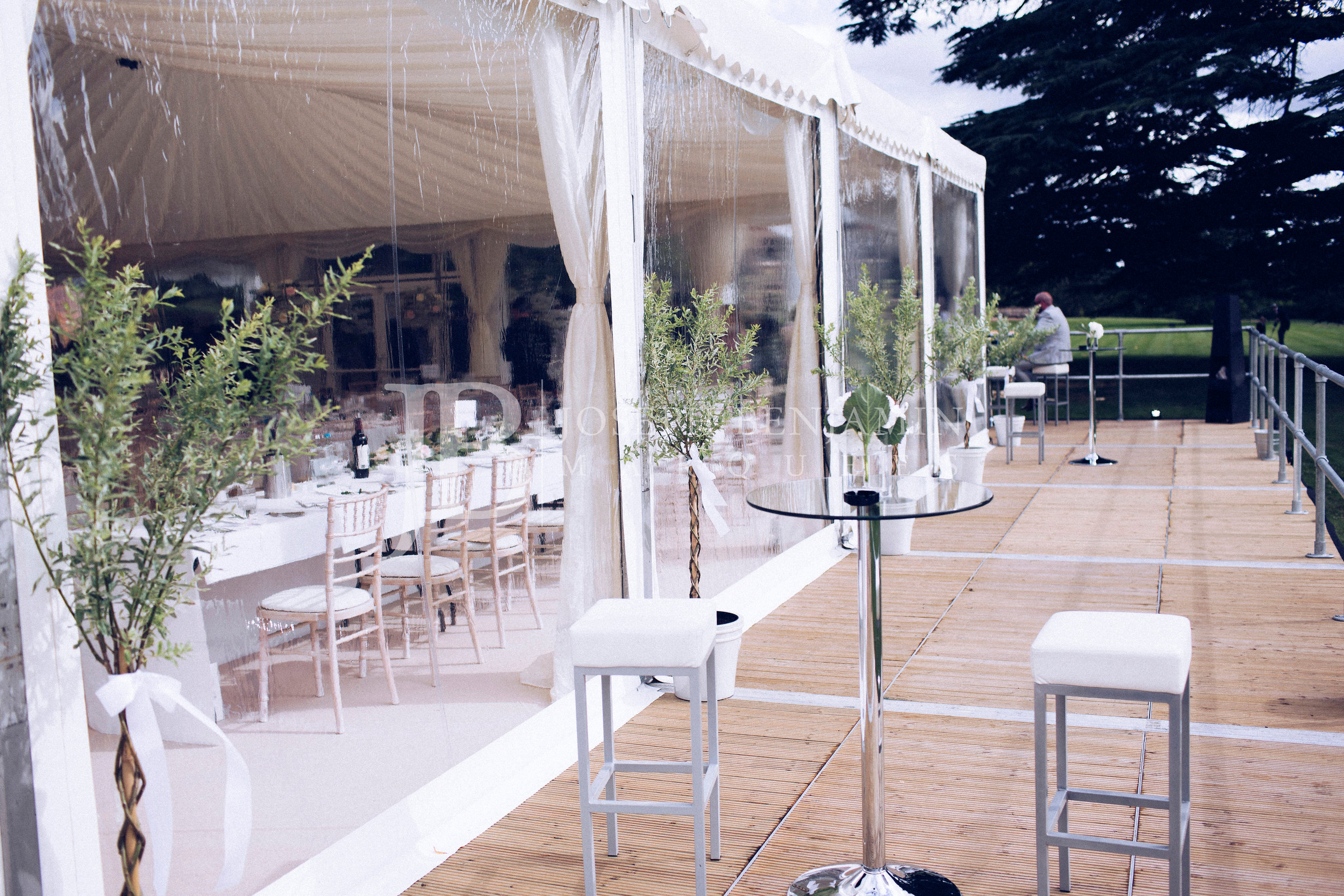 Wedding Marquee From Joseph Benjamin Marquees