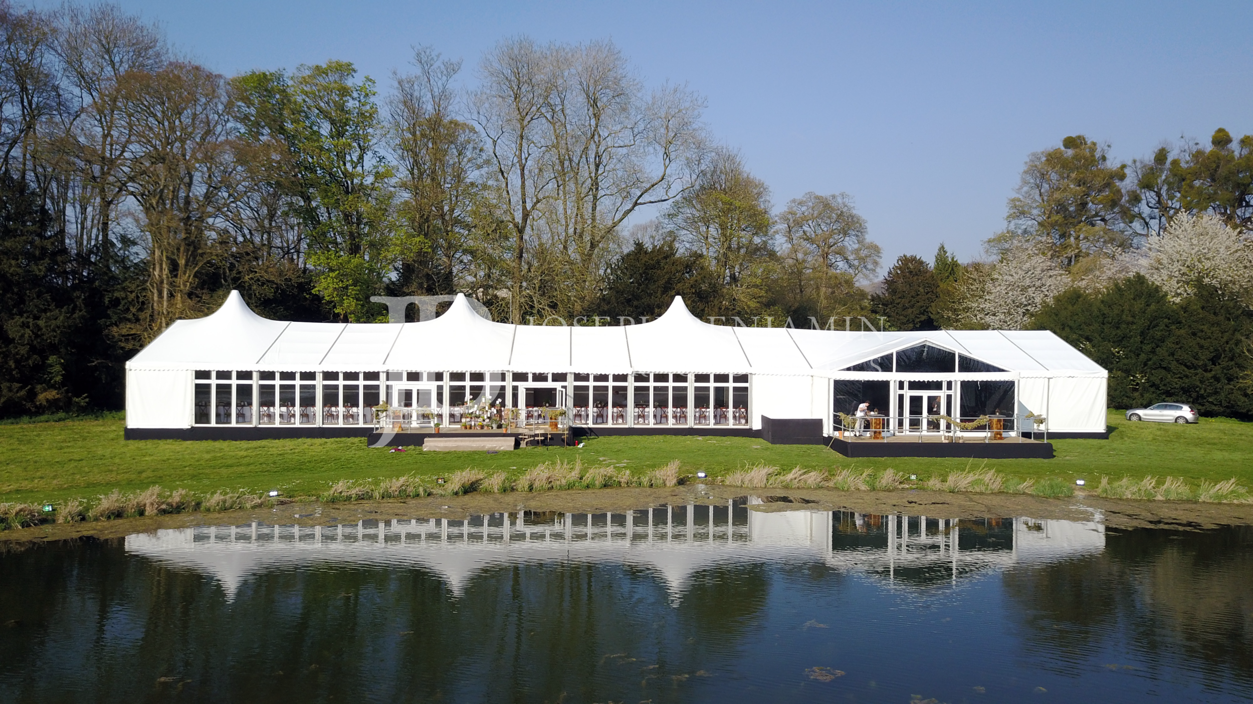 Wedding Marquee Exterior South East England