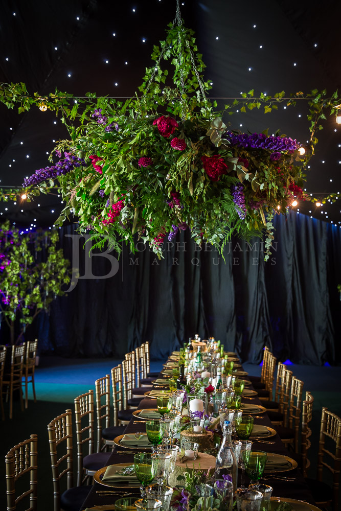 Wedding Marquee Interior Oxfordshire