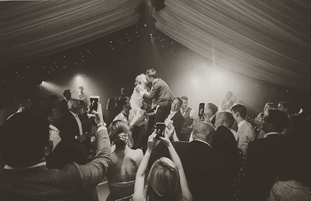 """All you need is love"" and we will do the rest. Photo @jamiedunnphoto. #westwycombe #marqueewedding #designcreatebuild #eventprofs #boxfresh"