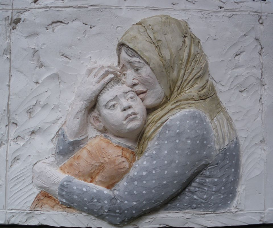 Relief for Syria, a sculpture by Sophy Dury
