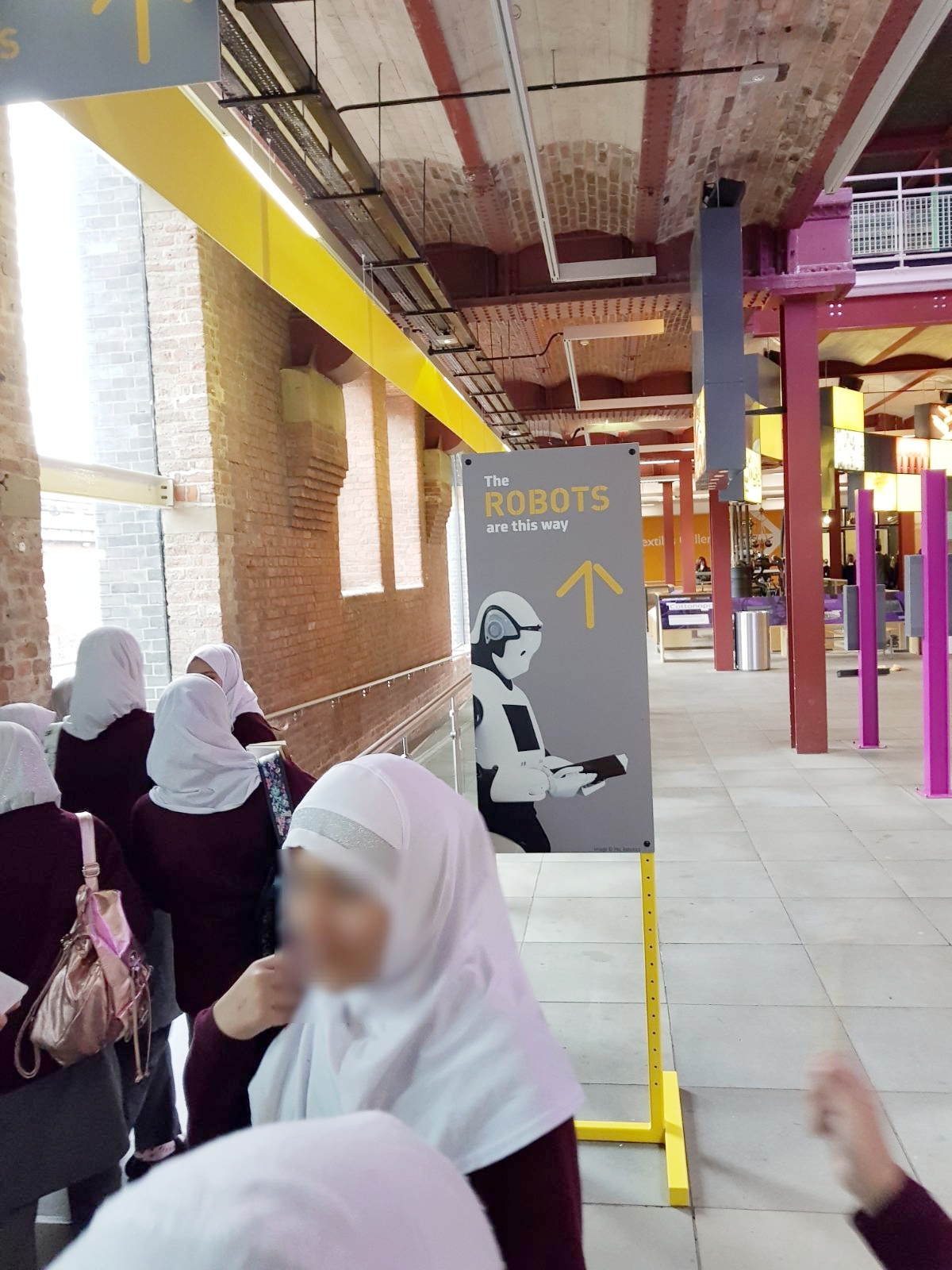 Robot Exhibition in Manchester