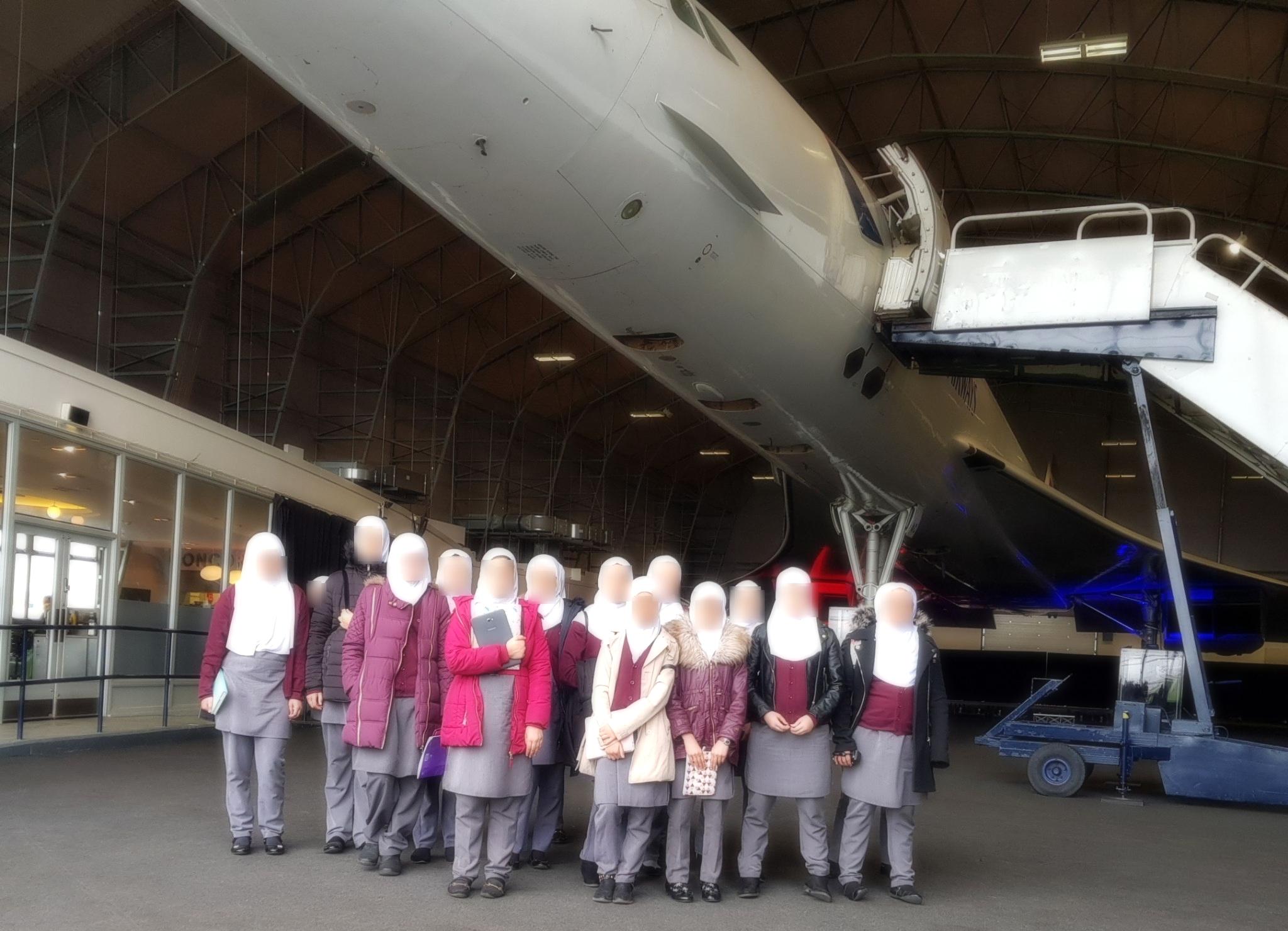 Visiting Concorde G-BOAC