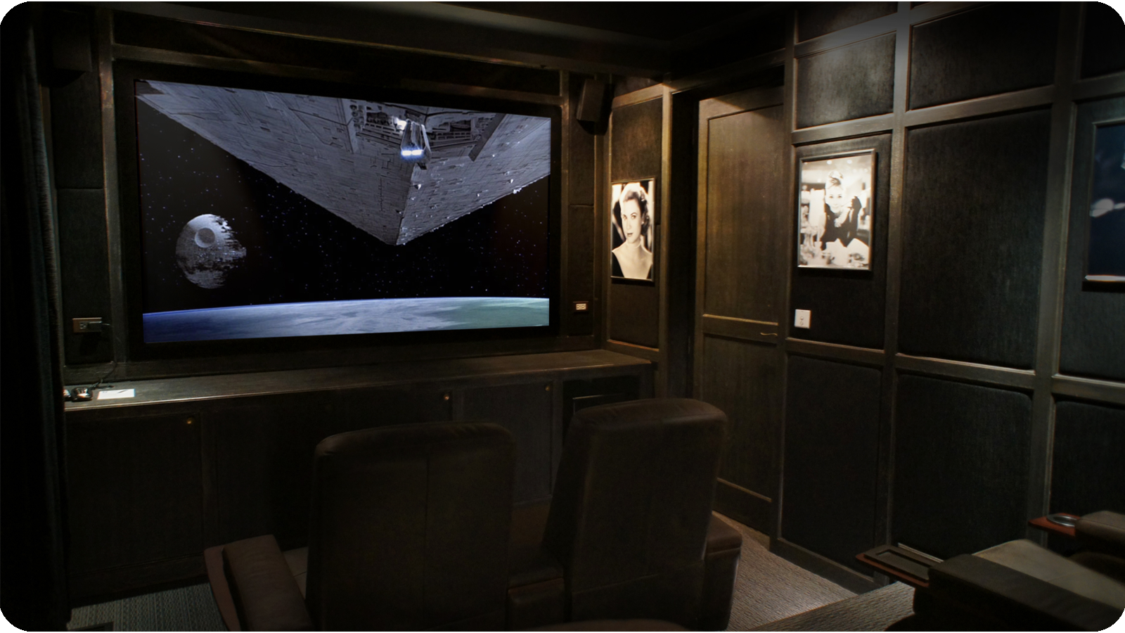 Home Theater Front Stage