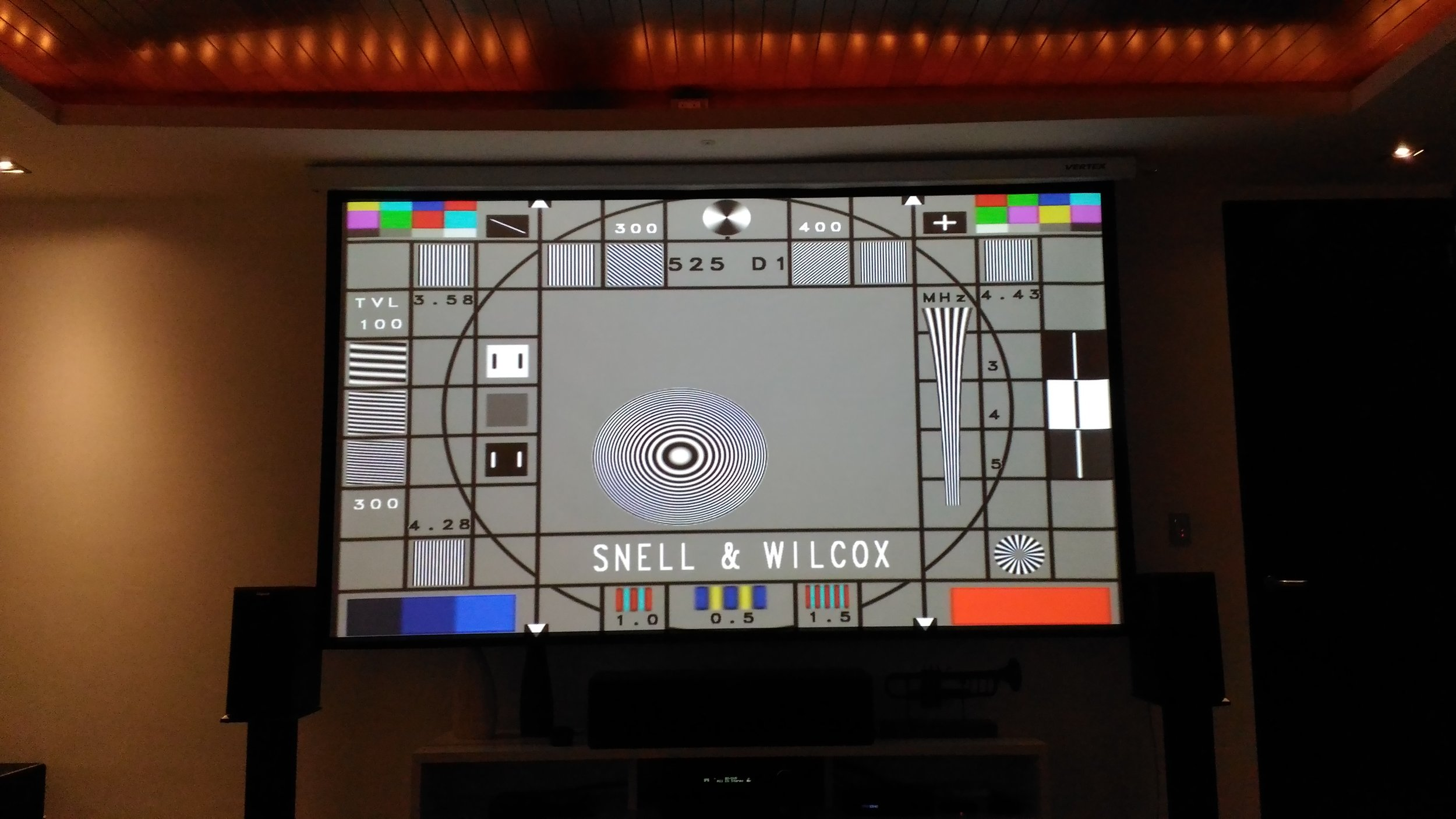 Home Cinema test pattern