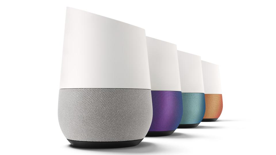 Google Homes range of Smart Home speakers/microphone