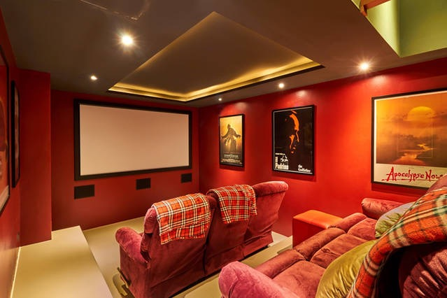 This cosy cinema in Kamala, Phuket is an ideal use of space in a previously unused area.