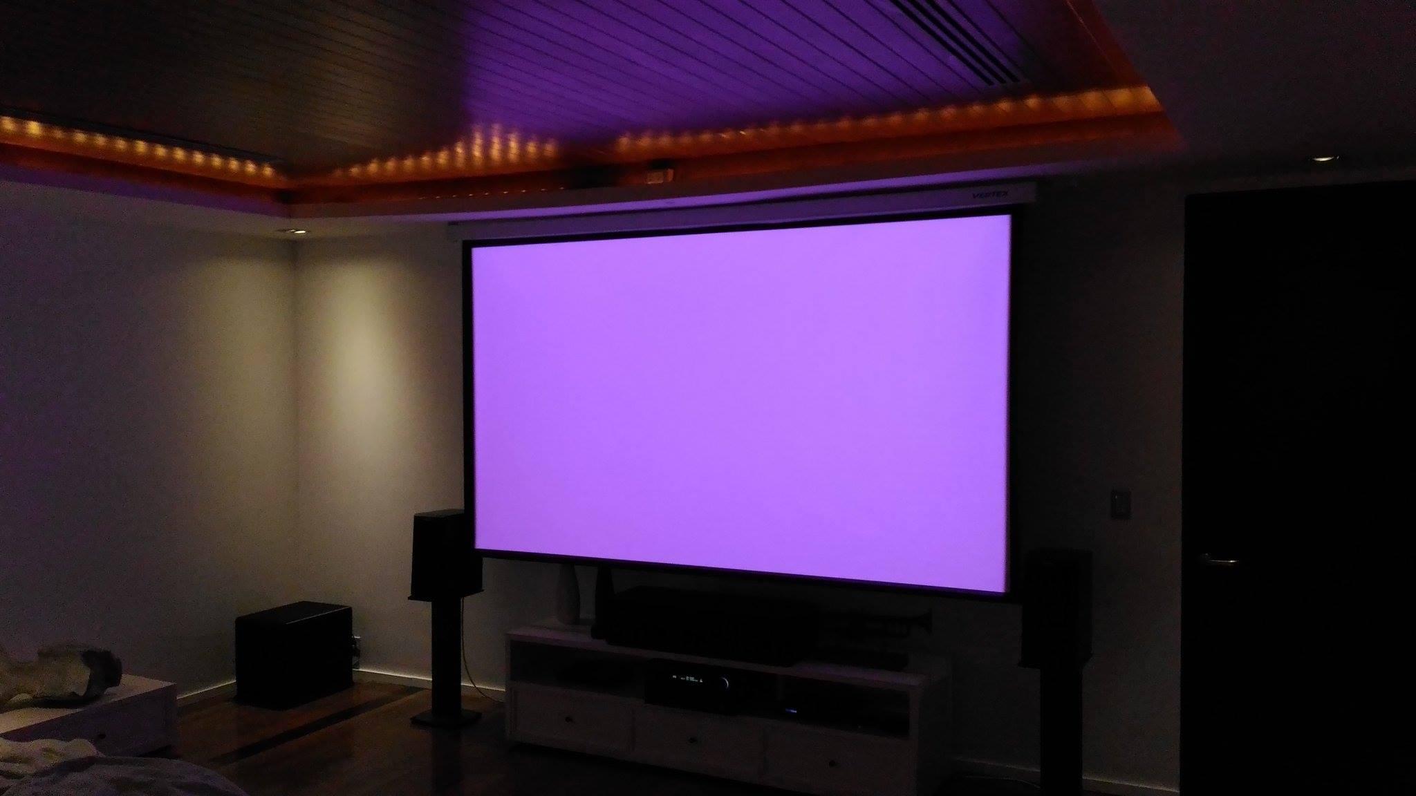 Test Cinema Colour - Purple