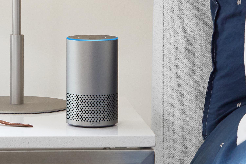Amazon Silver Echo