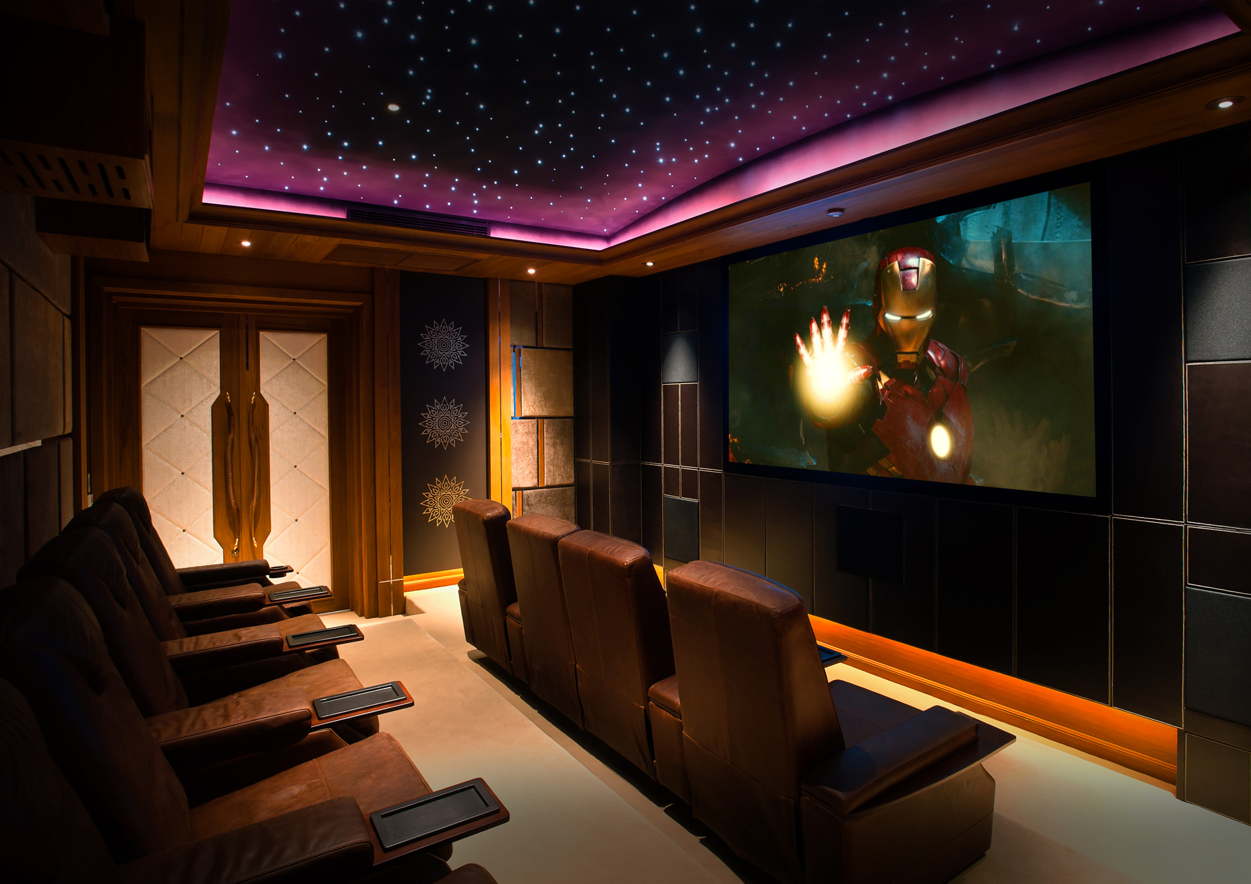 Starfield Home Cinema Ceiling