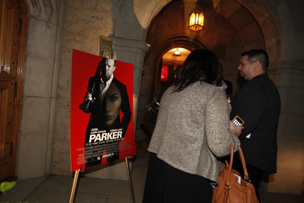 Movie Room Screening at Playboy Mansion.