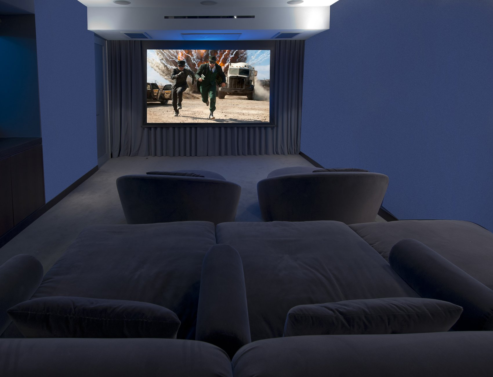 Matthew Perry Home Theater