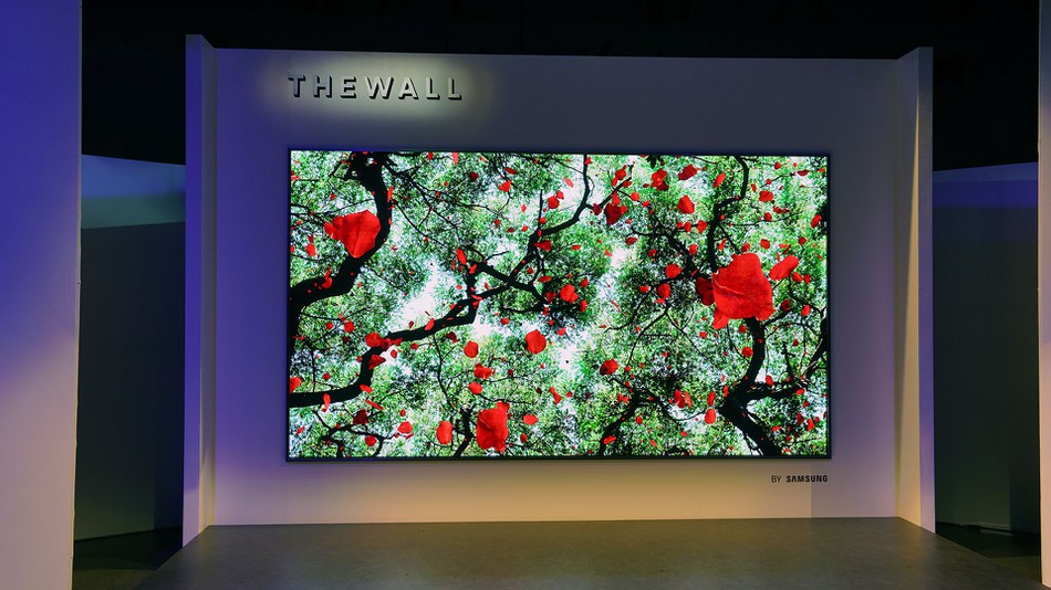 The Wall 4k TV featuring HDR and massive 146""
